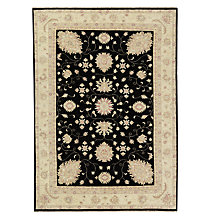 Buy John Lewis Garous Rug, Black Online at johnlewis.com