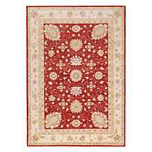 Buy John Lewis Garous Rug, Red Online at johnlewis.com