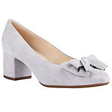 Buy Peter Kaiser Christiane Bow Block Heeled Court Shoes Online at johnlewis.com