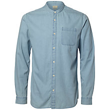 Buy Selected Homme Nolan Denim Shirt, Light Blue Online at johnlewis.com