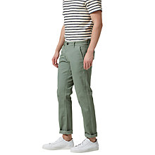 Buy Selected Homme Three Paris Chinos, Sea Spray Online at johnlewis.com