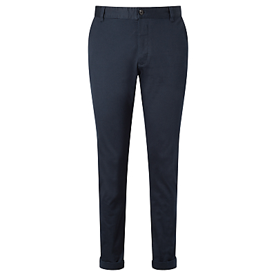 Samsoe & Samsoe Brady Stretch Chino Trousers, Total Eclipse