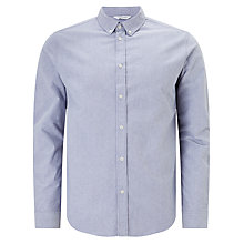 Buy Samsoe & Samsoe Liam Oxford Shirt, Light Blue Online at johnlewis.com