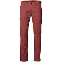 Buy Selected Homme Three Paris Stretch Chinos, Apple Butter Online at johnlewis.com