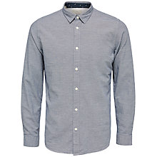Buy Selected Homme Marcel Shirt, Navy Blazer Online at johnlewis.com