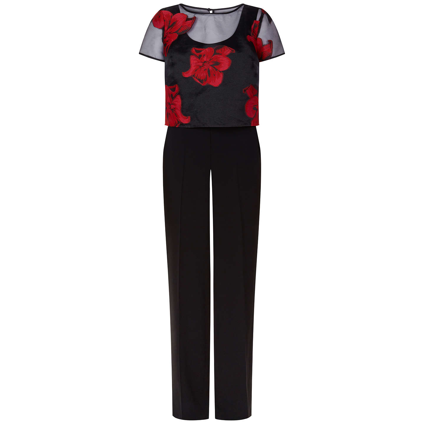BuyFenn Wright Manson Kaleidoscope Jumpsuit, Red, 8 Online at johnlewis.com