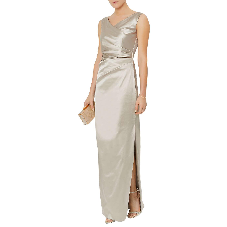 Damsel In A Dress Bellini Dress: Damsel In A Dress Adrienne Dress, Rose Gold At John Lewis