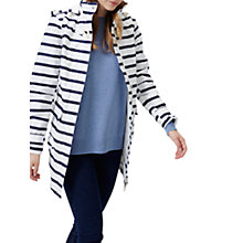 Buy Joules Right as Rain Haven Waterproof Jacket, Navy Stripe Online at johnlewis.com