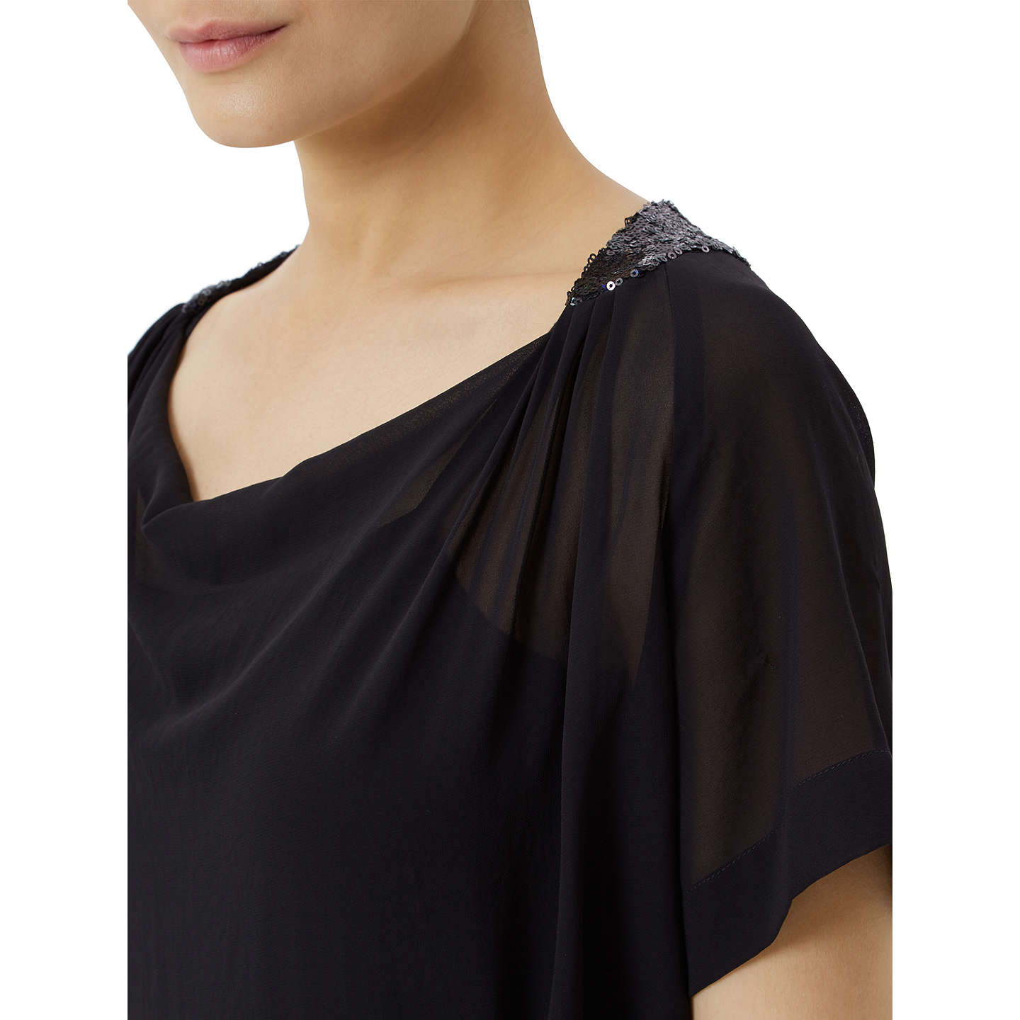 BuyFenn Wright Manson Petite Jupiter Top, Black, 16 Online at johnlewis.com