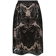 Buy Fenn Wright Manson Petite Galaxy Skirt, Black Online at johnlewis.com