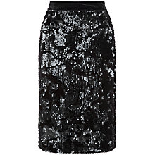 Buy Fenn Wright Manson Petite Universe Skirt, Black Online at johnlewis.com