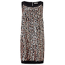 Buy Jacques Vert Sequin Split Tunic, Multi Black Online at johnlewis.com