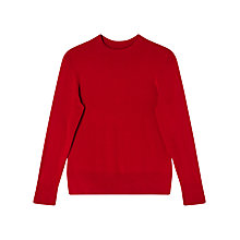 Buy Precis Petite Gabriella Turtle Neck Jumper, Red Online at johnlewis.com