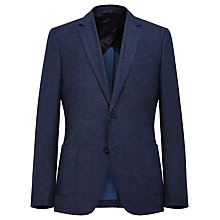 Buy Reiss Teller Premium Slim Wool Blazer, Navy Online at johnlewis.com