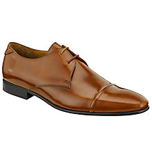 Buy Paul Smith Robin Toe Cap Derby Shoes, Tan Online at johnlewis.com