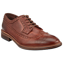 Buy Paul Smith Malloy Dip Dye Calf Brogues, Chestnut Online at johnlewis.com