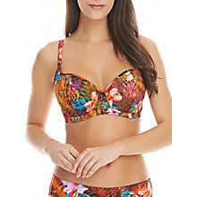 Buy Freya Safari Beach Underwired Bikini Top, Multi Online at johnlewis.com