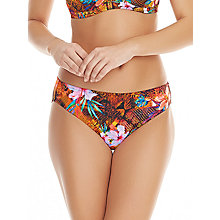 Buy Freya Animal Safari Beach Bikini Briefs, Multi Online at johnlewis.com