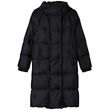 Buy Gerard Darel Burundi Puffer Jacket, Dark Grey Online at johnlewis.com