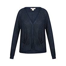 Buy Celuu Lexi Metallic Cardigan, Navy Online at johnlewis.com