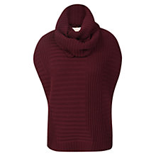 Buy Celuu Brie Sleeveless Jumper, Burgundy Online at johnlewis.com