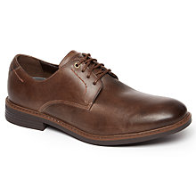Buy Rockport Break Plain Toe Shoes, Brown Online at johnlewis.com