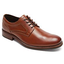 Buy Rockport Wyat Plain Toe Derby Shoes Online at johnlewis.com