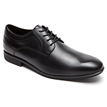 Buy Rockport Style Connect Shoes, Black Online at johnlewis.com