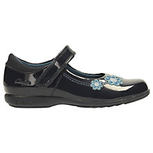 Buy Clarks Children's Trixi Whizz Patent Mary Jane Shoes, Navy Patent Online at johnlewis.com