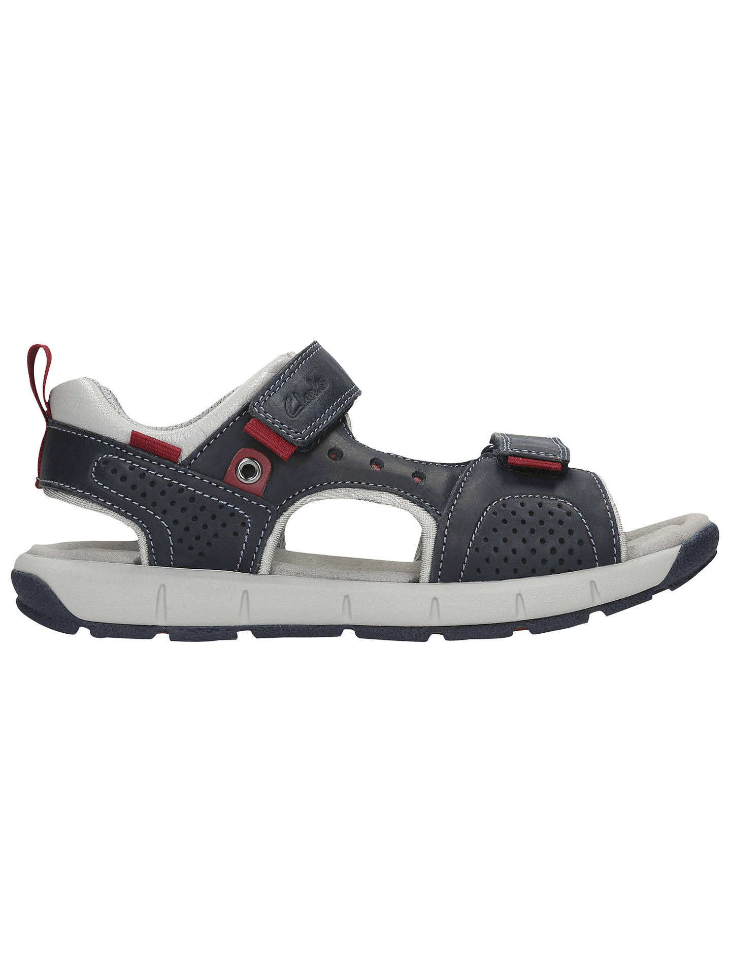 Clarks Infant Jolly Wild Sandals, Navy at John Lewis & Partners