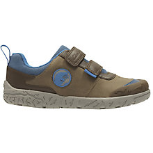 Buy Clarks Children's Brontoglow Infant Shoes, Brown/Multi Online at johnlewis.com