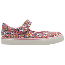 Buy Clarks Children's Brill Gem Shoes, Pink Online at johnlewis.com