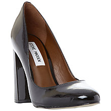 Buy Steve Madden Spectur Block Heeled Court Shoes Online at johnlewis.com