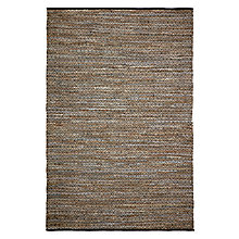 Buy Brink And Campman Recycled Leather Tribe Rug, Natural Online at johnlewis.com