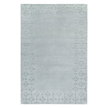 Buy John Lewis Ditton Border Rug, Duck Egg Online at johnlewis.com