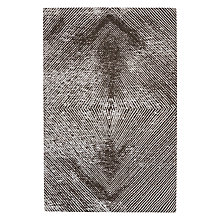 Buy John Lewis Hotel Bruges Rug, Black Online at johnlewis.com