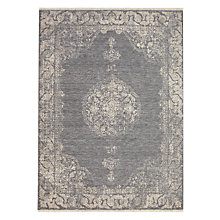 Buy John Lewis Kabir Medallion Rug, Grey Online at johnlewis.com