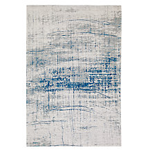 Buy Louis de Poortere Bronx Azurite Rug, Grey Online at johnlewis.com