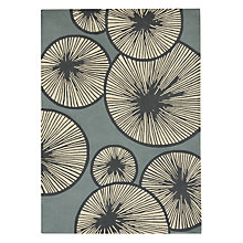 Buy MissPrint Cotton Tree Rug, Blue Online at johnlewis.com