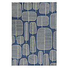 Buy MissPrint Little Trees Rug, Blue Online at johnlewis.com