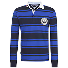 Buy Tommy Hilfiger Long Sleeve Striped Rugby Shirt Online at johnlewis.com
