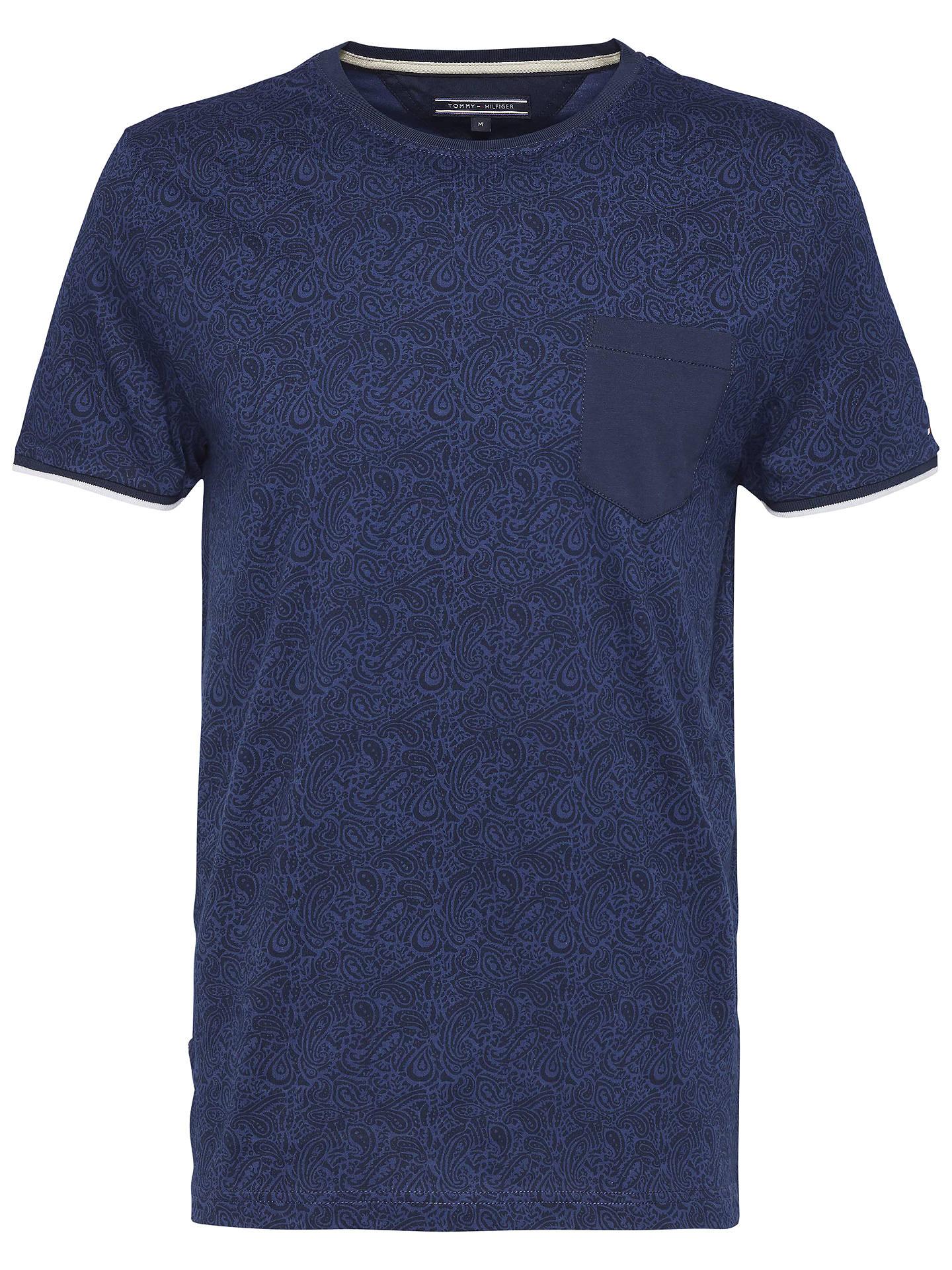 8484e70435267e BuyTommy Hilfiger Tyson Paisley Print T-Shirt