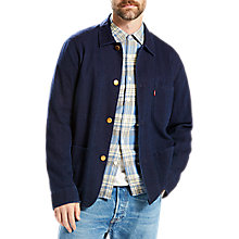 Buy Levi's New Engineers Jacket, Indigo Online at johnlewis.com
