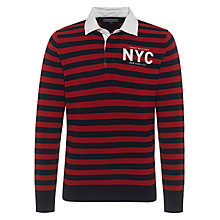 Buy Tommy Hilfiger Kevin Rugby Shirt, Navy Online at johnlewis.com