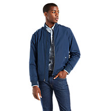 Buy Levi's Thermore Varsity Bomber Jacket, Dress Blues Online at johnlewis.com