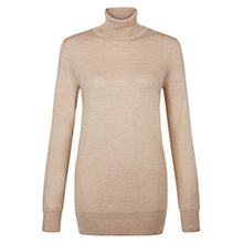 Buy Hobbs Slouchy Lara Roll Neck Jumper Online at johnlewis.com