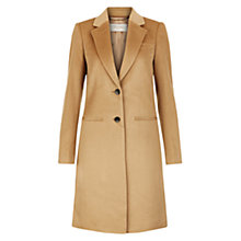 Buy Hobbs Tilda Coat, Camel Online at johnlewis.com