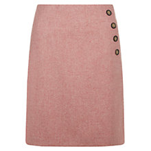Buy Hobbs Wrap Skirt, Pale Cranberry Online at johnlewis.com