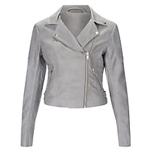 Buy Miss Selfridge PU Biker Jacket Online at johnlewis.com