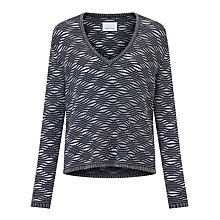 Buy Samsoe & Samsoe Nalini Jumper, Dark Sapphire Online at johnlewis.com
